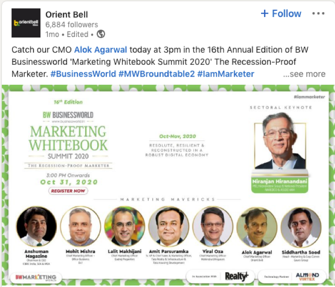 Orient Bell CMO Profile.png
